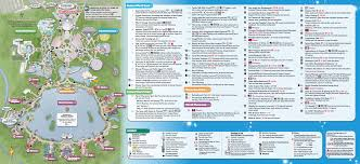 Universal Park Orlando Map by New Epcot Park Map Now Available At Walt Disney World