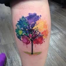 the 25 best watercolor tree ideas on black