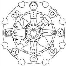 holding hands mandala for kids http glad is article kids