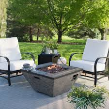 red ember coronado gas fire pit table with free cover hayneedle