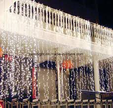 christmas lights direct from china china factory direct ip44 3 1m wedding decoration led curtain light