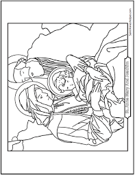 father u0027s day coloring pages of st joseph