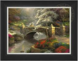 bridge of hope u2013 limited edition art the thomas kinkade company