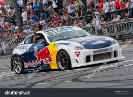nissan 350z drift car ukrainekiev may 19 ukrainian drift champion stock photo 103710536