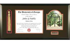 diploma frames with tassel holder classic arch tassel frame uga diploma frame with classic view of the