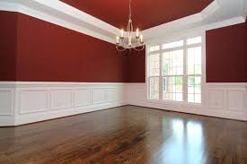 Pictures Of Wainscoting In Dining Rooms Dining Room With White Wainscoting Walls With