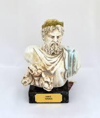 hades greek god of the underworld statue