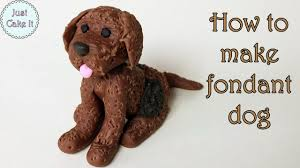 z cake topper how to make fondant dog cake topper jak zrobić psa z masy