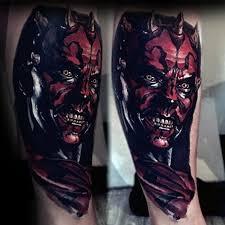 scariest darth maul tattoo golfian com