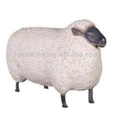 size pig fiberglass resin garden animals ornament for