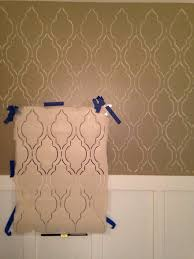 bathroom stencil ideas cutting edge stencils diy board and batten fabulous bathroom