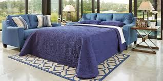 Blue Sleeper Sofa Navy Blue Velvet Sleeper Sofa High End Design 2018 2019