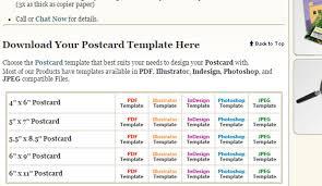 7 adobe indesign postcard template af templates