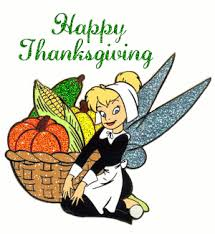 tinker bell happy thanksgiving animated gif 9117 animate it