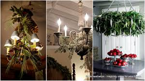 Christmas Decoration Ideas For Your Home 17 Gorgeous Christmas Chandeliers For A Yuletide Home Decor