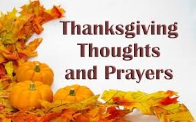 thanksgiving thoughts and prayers