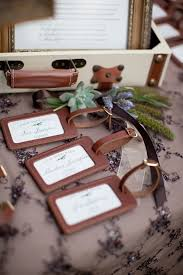 luggage tag favors wedding luggage tag favors currys leather products