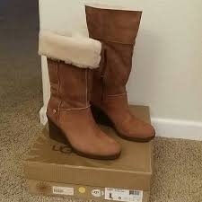 ugg s jocelin boot 47 ugg boots ugg wedge joslyn boot size 9 from