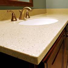 Vanity Tops With Sinks Bioprism Solid Surface Vanity Top With Ov Sink Endurant Inpro