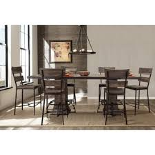 counter height dining room sets modern counter height dining room sets allmodern