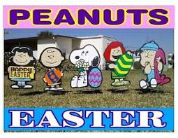 peanuts outdoor easter combo s decorations ebay