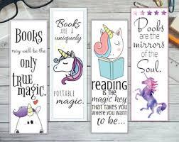 printable bookmarks for readers printable unicorn bookmark set unicorn bookmarks printable