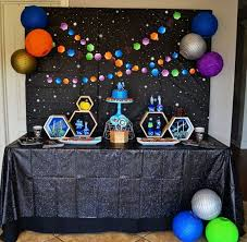 Outer Space Decorations Outer Space Party On Pinterest Space Party Outer Space