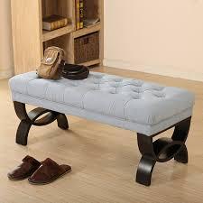 divano ottomano americano divano in tessuto sgabello cambiare le scarpe e negozio