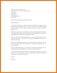 8 leasing agent cover letter bibliography apa