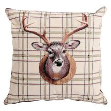 Stag Cushions Stags Head Cushion