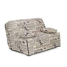 canapé clic clac alinea housse pour clic clac 130cm newspaper canapes clic clac bz