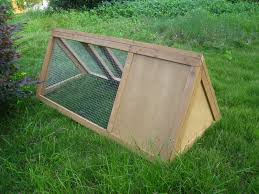 Rabbit Hutch Instructions Wooden Outdoor Triangle Rabbit Hutch And Run Guinea Pig Ferret