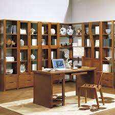 wood corner bookcase furniture classic corner bookshelf ideas come with varnish wood