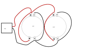 subwoofer wiring diagrams two 2 ohm dual voice coil dvc