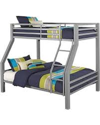 amazing deal xander gray twin full bunk bed