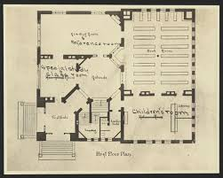 drawings picture this library of congress prints photos first floor plan for the scoville institute oak park illinois photo
