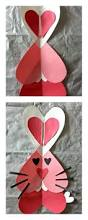 heart bunny rabbit craft for kids valentine u0027s day project