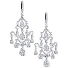 diamond chandelier earrings chandelier earrings shop for chandelier earrings on polyvore