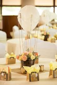 hot air balloon centerpiece 50 gorgeous ways to dress up your reception tables balloon