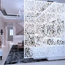 Diy Room Divider Screen Diy Room Divider Hanging Wall Panels Decor Plastic Screen