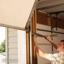 Garage Door Strip Seal by Garage Door Repair The Family Handyman