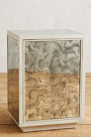fontaine mirrored nightstand anthropologie