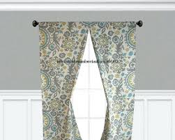 Damask Kitchen Curtains Yellow Floral Curtains U2013 Teawing Co