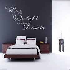 sticker chambre every wall sticker bedroom quote decal mural