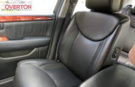 lexus ls430 leather seat covers 2006 lexus ls 430 silver with black leather overton automotive