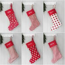 Stocking Luxury Personalised Christmas Santa Stocking By Hide U0026 Seek