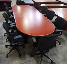 Office Furniture Conference Table Pre Owned Office U0026 Used Conference Tables In Raleigh Nc