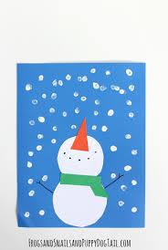 snowman craft for kids fspdt