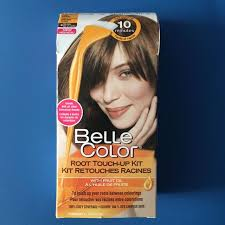 garnier belle color root touch kit light browns
