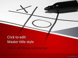 tic tac toe template powerpoint free tic tac toe powerpoint